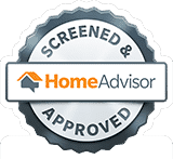 Logo of Home Advisor.